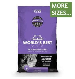 Worlds Best World's Best Cat Litter Multi Cat Lavender