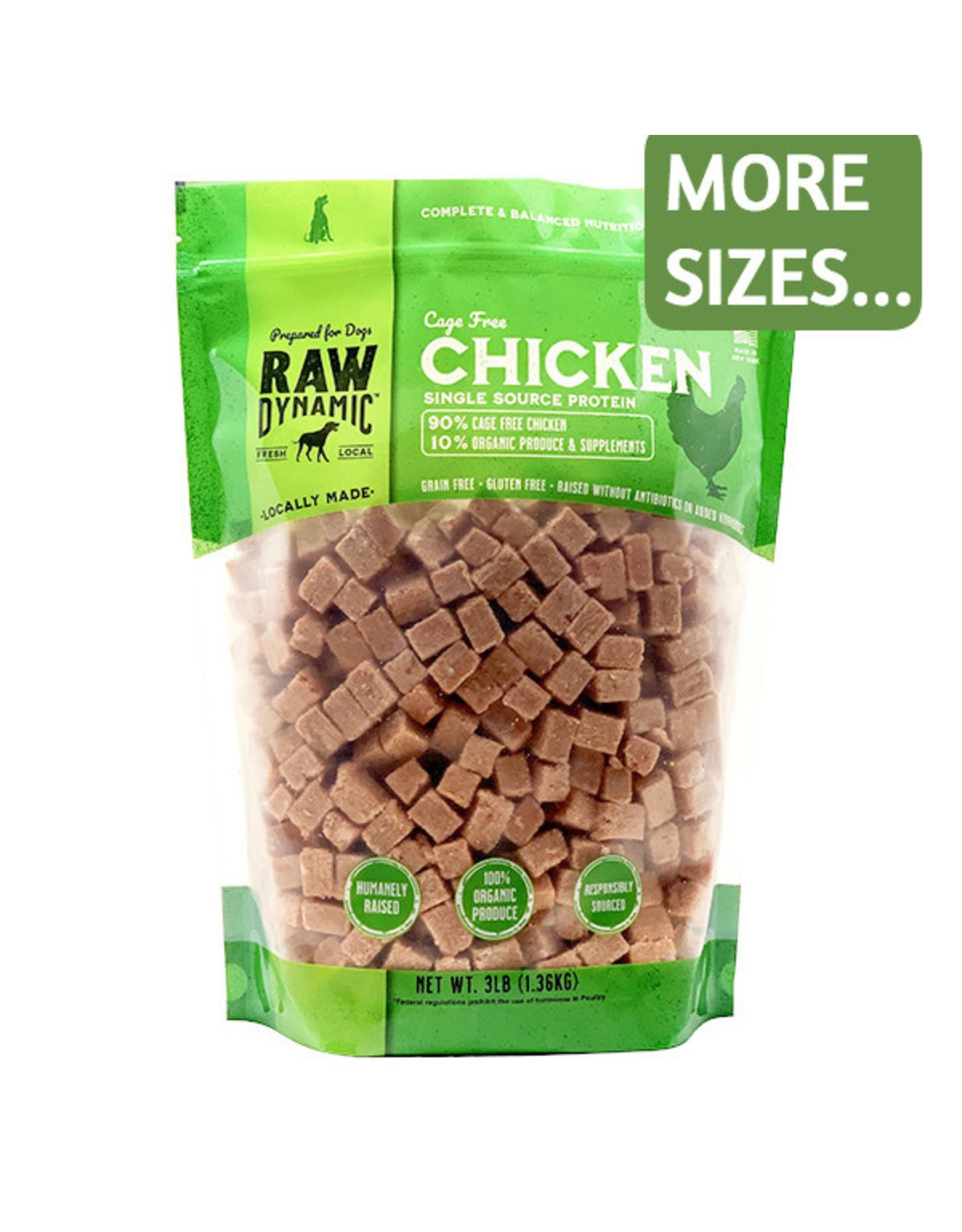 Raw Dynamic Raw Dynamic Dog Frozen Raw Cage-Free Chicken Formula