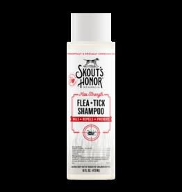 Skouts Honor Skout's Honor Flea Tick Dog Shampoo 16oz