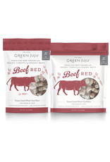 Green Juju Freeze Dried Beef Red Whole Bites Dog and Cat Treats