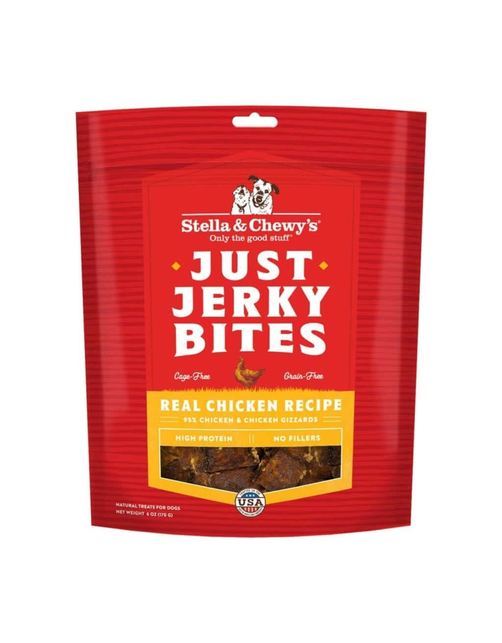Stella and Chewys Stella and Chewy's Just Jerky Bites Real Chicken Recipe 6oz