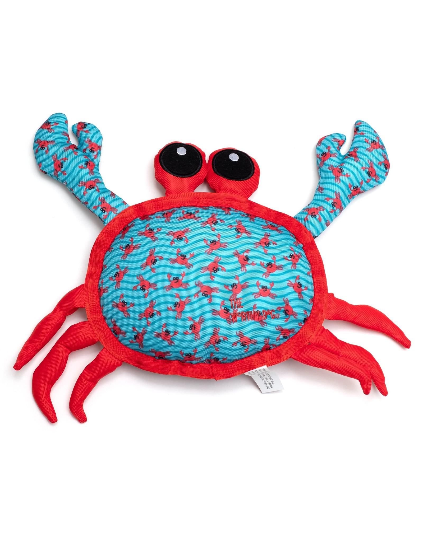 The Worthy Dog Worthy Dog Crab Tough Dog Toys
