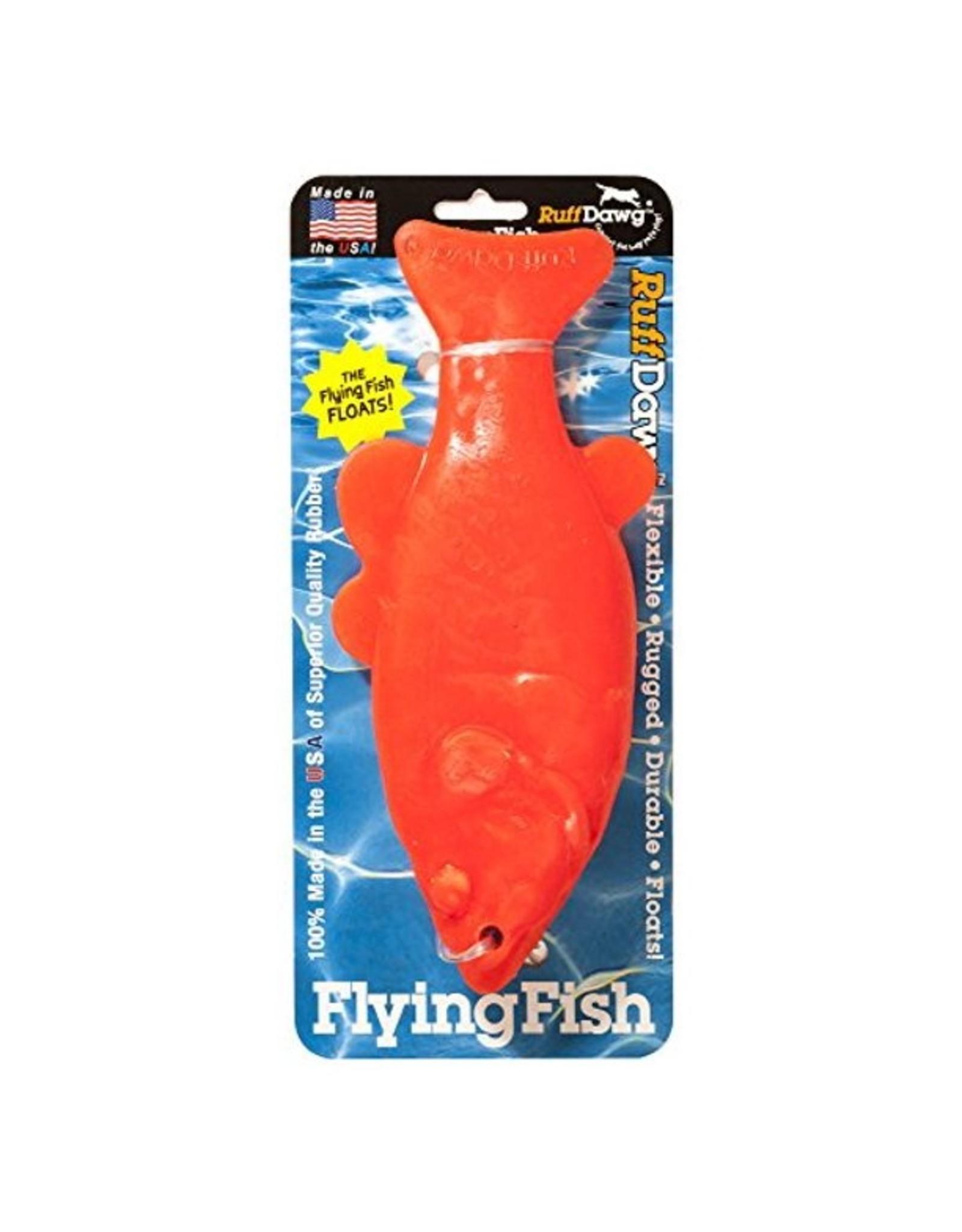 Ruff Dawg Ruff Dawg Flying Fish Rubber Fetch Dog Toy