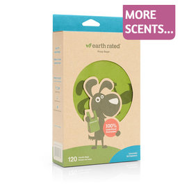 Earth Rated Earth Rated Easy-Tie Poop Bags w/Handles 120ct