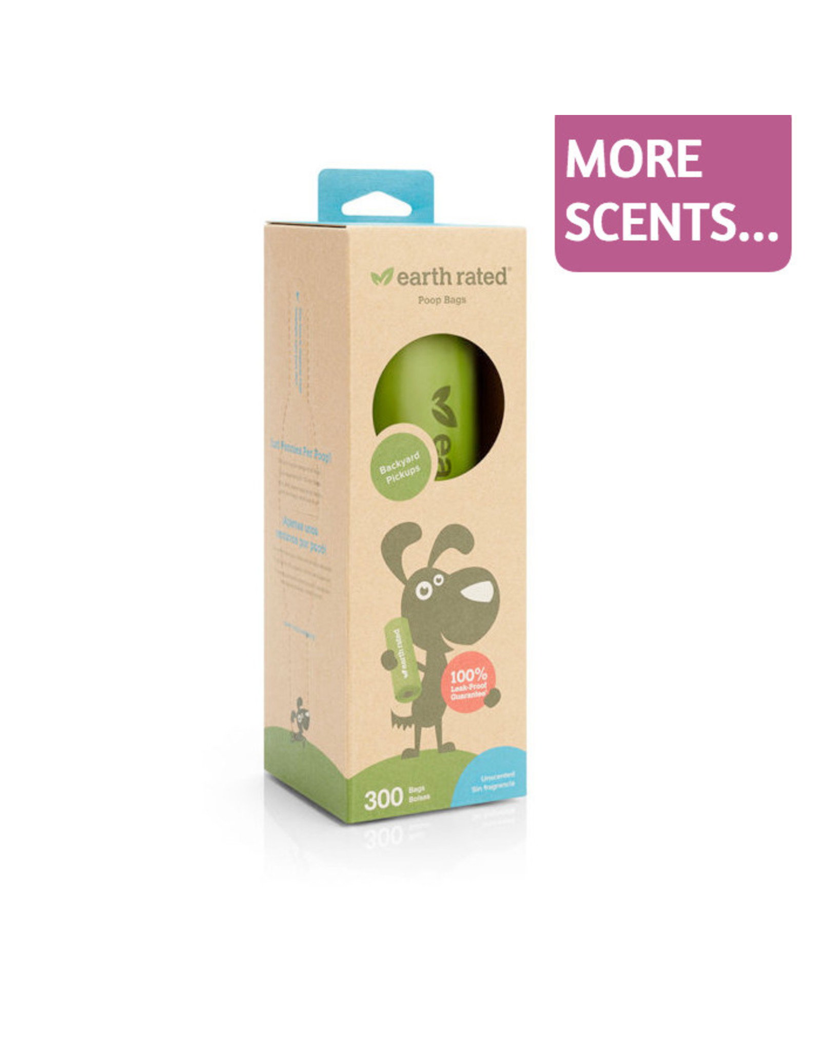 Earth Rated Earth Rated Poop Bags 300ct Roll Unscented or Lavender