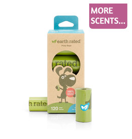 Earth Rated Earth Rated Poop Bags 8 Rolls 120ct