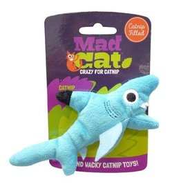 Mad Cat by Cosmic Mad Cat Shark Biter Catnip Toy