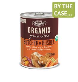 Castor & Pollux Organix Dog Can B&B Chicken Wing & Thigh Sweet Potato 12.7oz