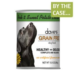 Daves Pet Food Dave's Dog Can Pork & Sweet Potato 13oz