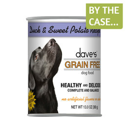 Daves Pet Food Dave's Dog Can Duck & Sweet Potato 13oz