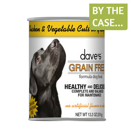 Daves Pet Food Dave's Dog Can Chicken Vegetables in Gravy 13oz