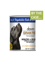 Daves Pet Food Dave's Wet Dog Food Grain Free Beef and Vegetable Cuts in Gravy 13oz Can