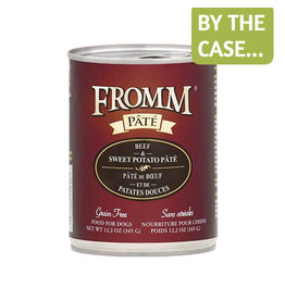 Fromm Fromm Dog Can Beef Sweet Potato Pate 12.2oz