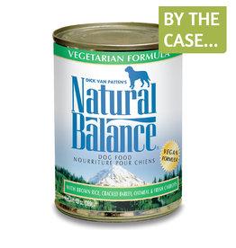 Natural Balance Natural Balance Dog Can Vegetarian 13oz