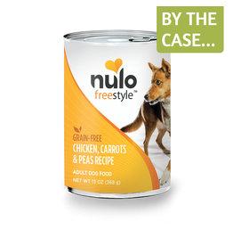 Nulo Nulo Dog Can Chicken Carrots & Peas 13oz