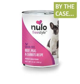 Nulo Nulo Dog Can Beef Peas & Carrots 13oz