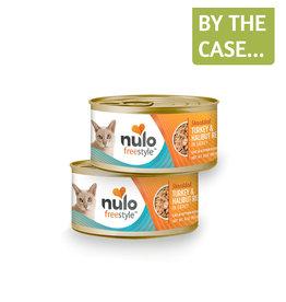 Nulo Nulo Cat Can Shredded Turkey & Halibut 3oz