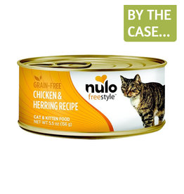 Nulo Nulo Cat Can Chicken & Herring Pate 5.5oz
