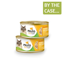 Nulo Nulo Cat Can Shredded Chicken & Duck 3oz