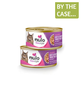 Nulo Nulo Cat Can Shredded Beef & Trout 3oz