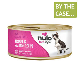 Nulo Nulo Cat Can Trout & Salmon Pate 5.5oz