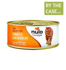Nulo Nulo Cat Can Turkey & Chicken Pate 5.5oz