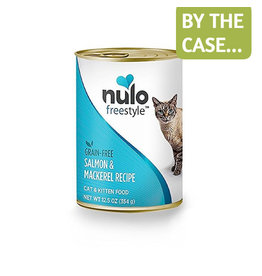 Nulo Nulo Cat Can Salmon & Mackerel Pate 12.5oz