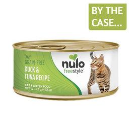 Nulo Nulo Cat Can Duck & Tuna Pate 5.5oz