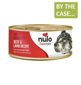 Nulo Nulo Cat Can Beef & Lamb Pate 5.5oz