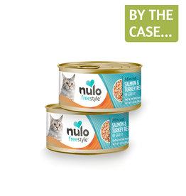 Nulo Nulo Cat Can Minced Salmon & Turkey 3oz