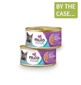 Nulo Nulo Cat Can Minced Beef & Mackerel 3oz