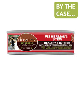 Daves Pet Food Dave's Cat Can Fisherman's Stew 5.5oz