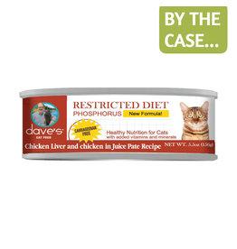 Daves Pet Food Dave's Cat Restricted Phosphorus Chicken Dinner 5.5oz