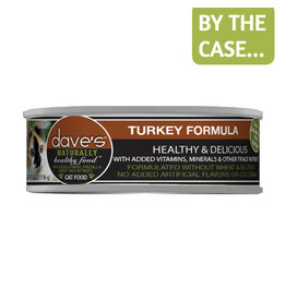 Daves Pet Food Dave's Cat Can Turkey 5.5oz
