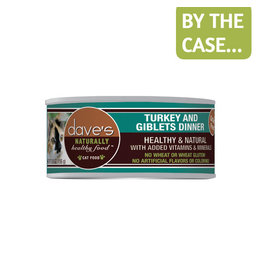 Daves Pet Food Dave's Cat Can Turkey & Giblets 5.5oz