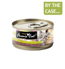 Fussie Cat Fussie Cat Can Tuna Clams 2.8oz