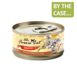 Fussie Cat Fussie Cat Can Gold Chicken in Gravy 2.8oz
