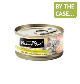 Fussie Cat Fussie Cat Can Tuna Shrimp 2.8oz