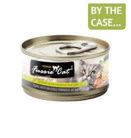 Fussie Cat Fussie Cat Can Tuna Mussels 2.8oz