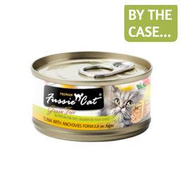 Fussie Cat Fussie Cat Can Tuna Anchovies 2.8oz