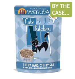 Weruva Weruva Cat CITK 1 If By Land 2 If By Sea 3oz Pouch