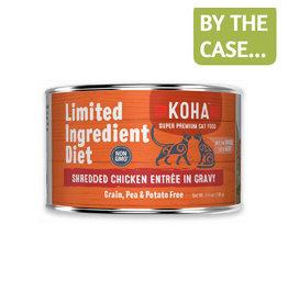 Koha Koha Cat Can LID Shredded Chicken 5.5oz
