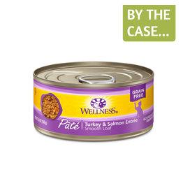 Wellness Wellness Cat Can Turkey & Salmon Pate 3oz