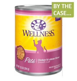 Wellness Wellness Cat Can Chicken & Lobster Pate 12oz