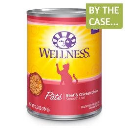 Wellness Wellness Cat Can Beef & Chicken Pate 12oz