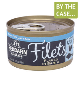 Redbarn Redbarn Cat Can Filets Chicken & Tuna 2.8oz