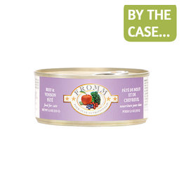 Fromm Fromm Cat Can Beef Venison Pate 5.5oz