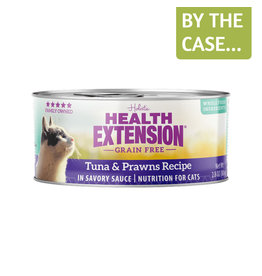 Health Extension Health Extension Cat Can Tuna & Prawns 2.8oz