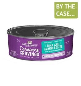 Stella and Chewys SC Carnivore Cravings Shredded Tuna & Salmon 2.8oz