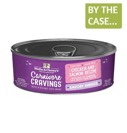 Stella and Chewys SC Carnivore Cravings Shredded Chicken & Salmon 2.8oz